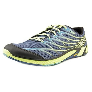 Merrell Bare Access 4 Men Round Toe Synthetic Blue Trail Running
