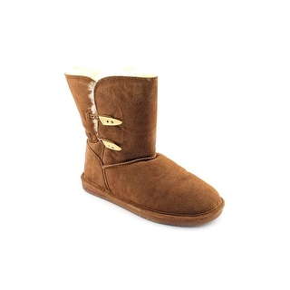 Bearpaw Abigail Round Toe Suede Winter Boot