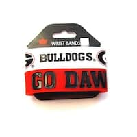 Georgia Bulldogs Rubber Wrist Band Set