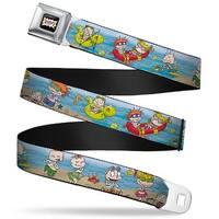 Rugrats Logo Rugrats Beach Play Scene Webbing Seatbelt Belt Fashion Belt