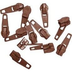 Brown - Make-A-Zipper Spare Pulls
