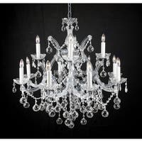 Swarovski Elements Crystal Trimmed Chandelier Lighting New Lighting With Faceted Crystal Balls