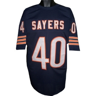 premium selection 55b6f 42c9a Gale Sayers unsigned Navy TB Custom Stitched Pro Style Football Jersey XL