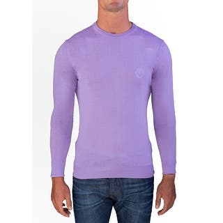 Versace Men's Medusa Head Crew Neck Sweater Lavendar|https://ak1.ostkcdn.com/images/products/is/images/direct/cef2f79137f5578b436ce062511a4fde26d8418d/Versace-Men%27s-Medusa-Head-Crew-Neck-Sweater-Lavendar.jpg?impolicy=medium