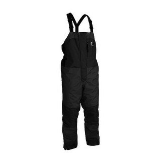 Mustang Survival Mustang Catalyst Flotation Bib Pant Large Black Mp4240 L Bk
