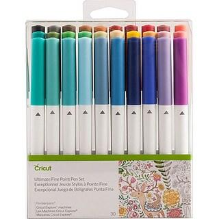 Cricut Ultimate Fine Point Pen Set Assorted Colors 30/Pkg
