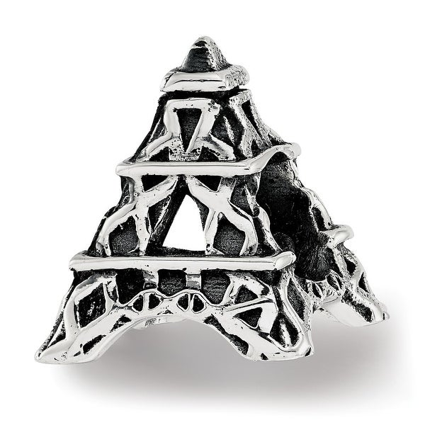 Sterling Silver Reflections Eiffel Tower Bead (4.5mm Diameter Hole)