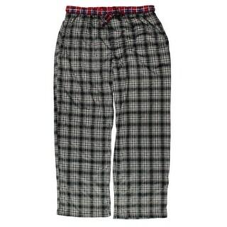 Tommy Hilfiger Mens Fleece Plaid Lounge Pants - XL