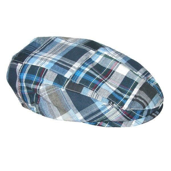 f7891559 Shop Stetson Men's Plaid Madras Ivy Cap - Free Shipping On Orders ...