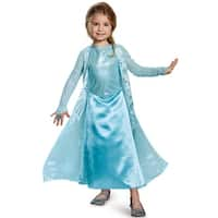 Disguise Elsa Sparkle Deluxe Child Costume - Blue