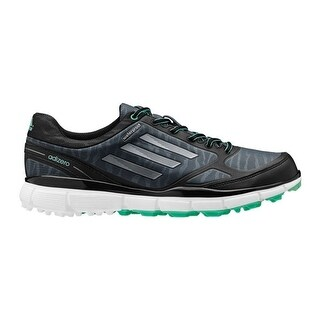 Adidas Women's Adizero Sport III Dark Grey/Black/Bright Green Golf Shoes Q46907
