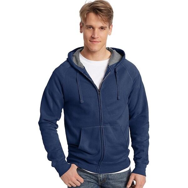 6807718ba Shop Hanes Men's Nano Premium Lightweight Full Zip Hoodie - Free Shipping  On Orders Over $45 - Overstock - 13858111