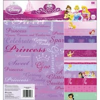 Ek Success Disney Princess Decorative Paper Pad Pack