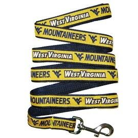 Collegiate West Virginia University Mountaineers Pet Leash