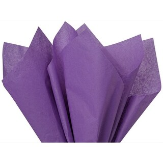 """(480 pack) Solid Lavender Tissue Paper 20 x 30"""" Sheet Half Ream Made from Post Industrial Recycled Fibers"""