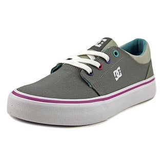 DC Shoes Trase TX Girl Grey/Grey/Blue Athletic Shoes