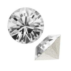 Swarovski Crystal, 1088 Xirius Round Stone Chatons pp32, 24 Pieces, Crystal F