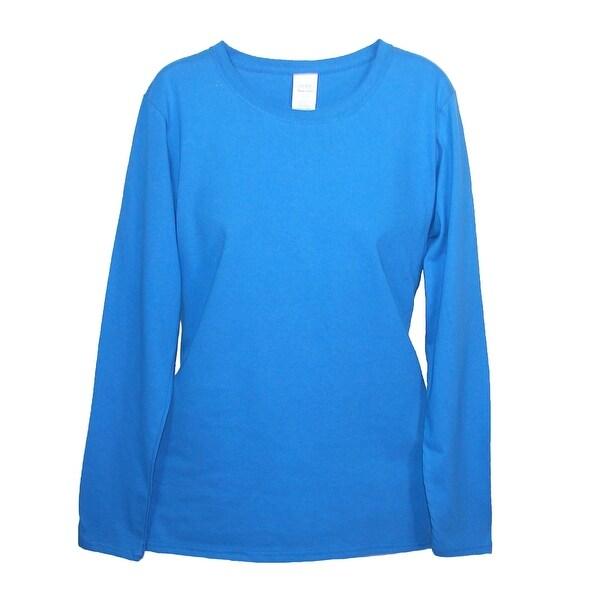 Gildan Women's Long Sleeve Basic Cotton Tee