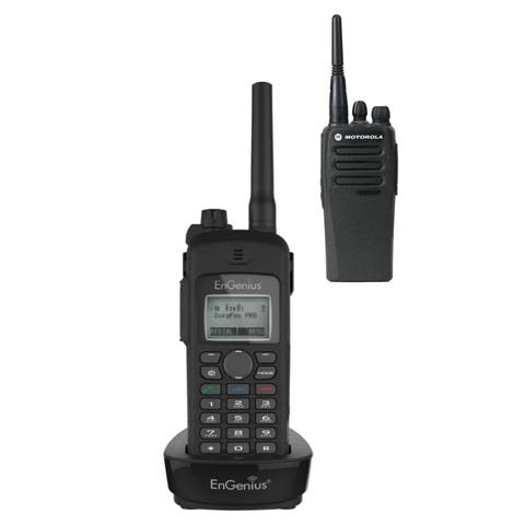 Engenius DuraFon-UHF-HC w/ CP200D-HK2087 (Single Pack) Cordless Phone with 2-Way Radio