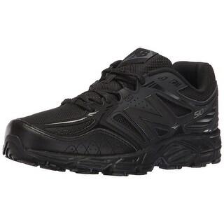 New Balance Men's mt510v3 Trail Running Shoes, Black