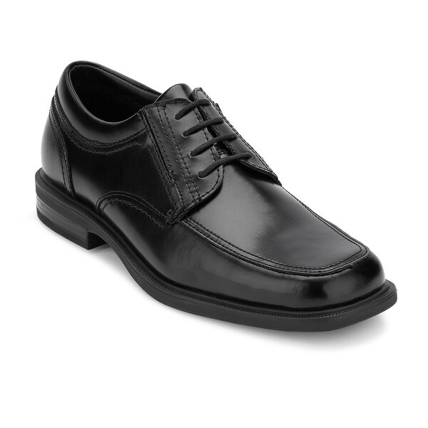 Dockers Mens Brigade Leather Slip Resistant Work Dress Oxford Shoe