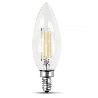 Feit Electric BPCTC40/850/LED/2 Dimmable Torpedo Tip LED Bulbs, 120V, 300 Lumens