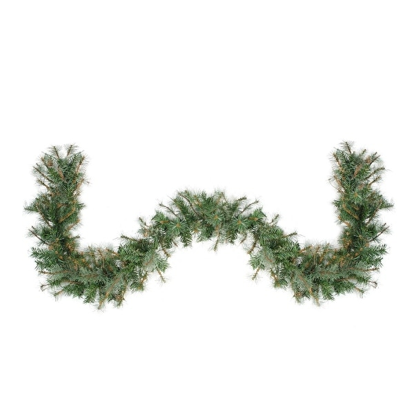 "6' x 9"" Country Mixed Pine Artificial Christmas Garland - Unlit - green"
