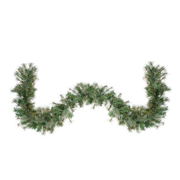 """9' x 12"""" Country Mixed Pine Artificial Christmas Garland - Unlit"""