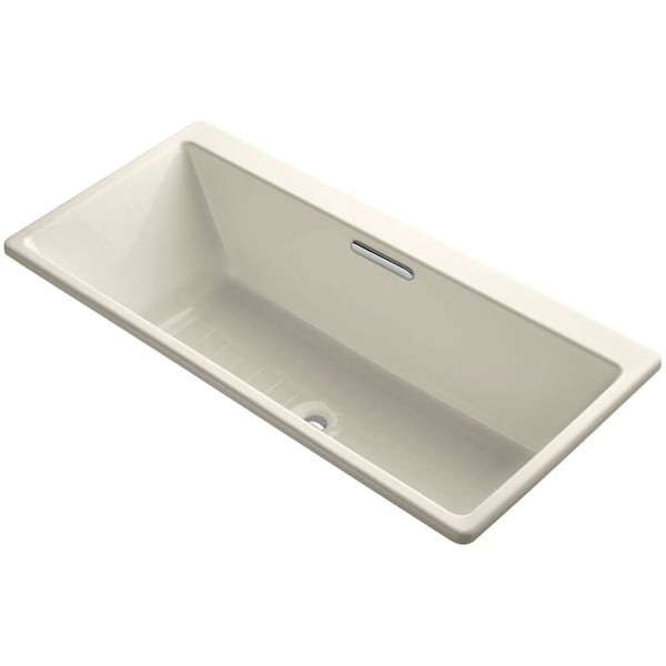 Kohler K 817 66 Drop In Soaking Bath Tub With Center Drain From The