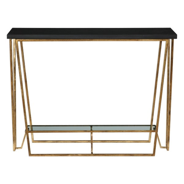 Shop Uttermost 24786 Agnes 40 Inch Wide Metal Console Table With