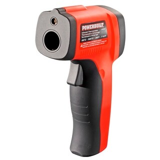 Powerbuilt Temperature Gun Infrared Non-Contact Laser Thermometer - 648564