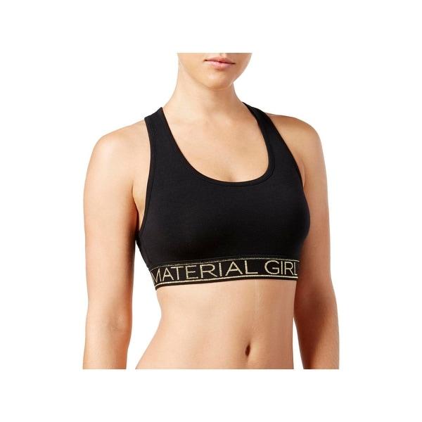 d6a522de2d1e7 Shop Material Girl Womens Juniors Sports Bra Racerback Active - Free ...