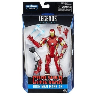 "Marvel Legends Captain America 6"" Action Figure Series: Iron Man Mk 46"