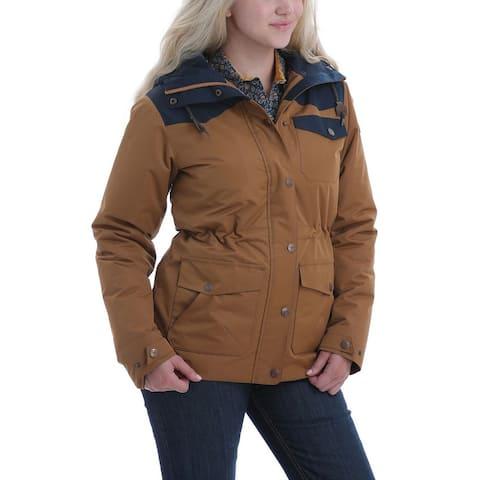 Cinch Western Coat Womens Barn 3/4 Length Blanket Stripe