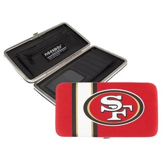San Francisco 49ers Shell Mesh Wallet