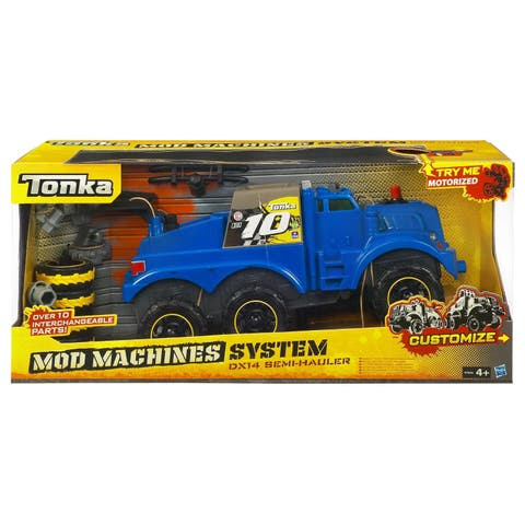 Tonka Mod Machine Motorized Semi - 8.0 in. x 20.0 in. x 9.0 in.