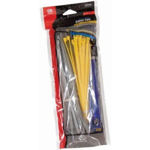 Gardner Bender 10095VDV Data Com Nylon Cable Tie, Assorted