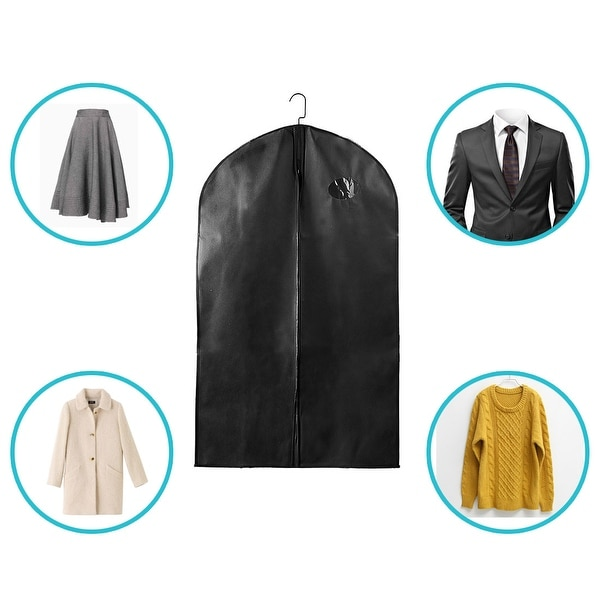 9aa352fdb890 Shop 40-Inch Breathable Garment Bag Suit Cover Clothing Covers for ...