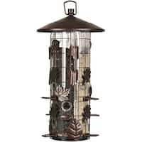 Perky-Pet 337 Squirrel-B-Gone III Bird Feeder, 8 lbs Capacity