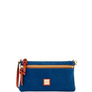 Dooney & Bourke Suede Tech Top Zip Pouch (Introduced by Dooney & Bourke at $118 in Sep 2017)