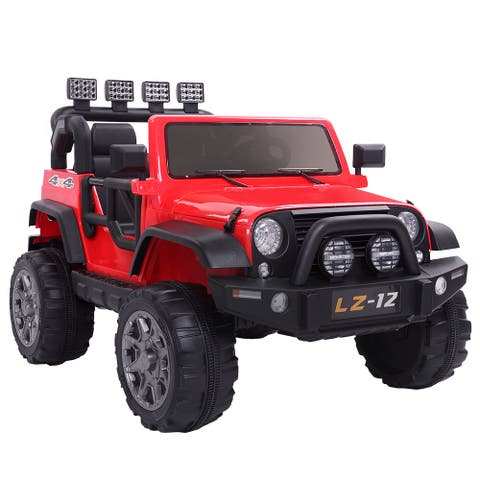 Jeep Dual Drive Kids Ride-On Toys 12V7AH with Remote Charger