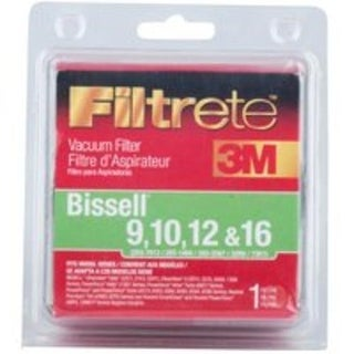 Filtrete 66809B-2 Vacuum Cleaner Filter, Bissell 9/10/12 & 16