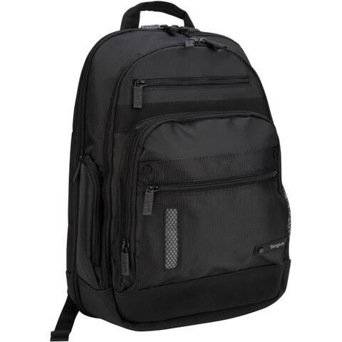 Targus teb005us teb005us 15.4 revolution - notebook backpack - 1680d ballistic nylon - black - 1
