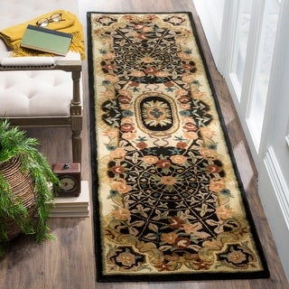 Link to Safavieh Handmade Classic Yvonne Traditional Oriental Wool Rug Similar Items in As Is