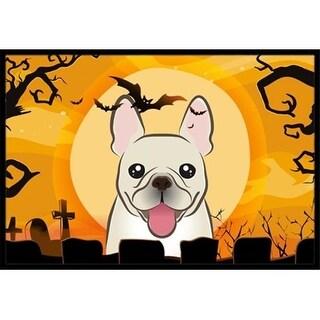 Carolines Treasures BB1796JMAT Halloween French Bulldog Indoor & Outdoor Mat 24 x 36 in.