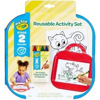 - Crayola My First Reusable Activity Set