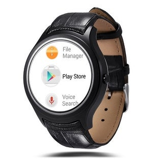 Indigi® GSM UNLOCKED! Android 4.4 Fitness 3G SmartWatch Cell Phone 3G+WiFi Google Play Store Heart-Rate Monitor Pedometer
