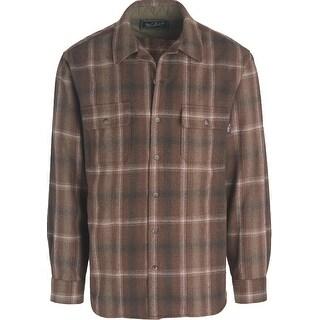 Woolrich Bering Wool Shirt, Mens