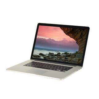 "Apple MacBook Pro A1398 MGXA2LL/A Intel Core i7-4770HQ 2.2GHz 16GB RAM 500GB SSD 15.4"" Retina Mac OS Laptop (Refurbished)"