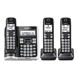 Panasonic KX-TGF573S Cordless Phone With Handset Cordless Phone with Answering Machine - 3 Handsets